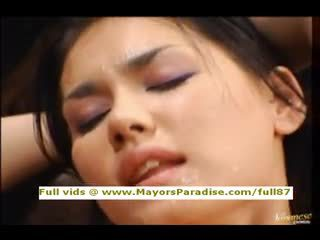 Maria ozawa és yuki osawa elegáns toying és having orgazmus