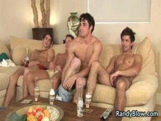 Gejs filma ainas no super hawt studs uz gejs četratā 5 līdz randyblow