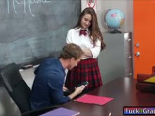 女學生 elektra rose 他媽的 由 老師