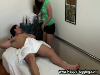 Asian masseuse paid for extra service