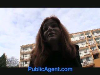 جذاب أحمر الشعر anals إلى نقود!