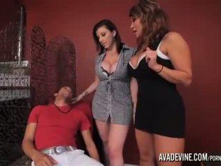 cougar, 3some, fake tits