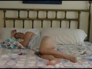 Mature Couple Bedtime Fucking Video