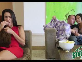 फक्किंग मेरे कदम sister में सामने की मोम दौरान चलचित्र