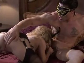 Disguised と 汚い aiden starr takes a nob 仕事 から a masked meatpole