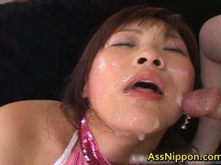 Haruka andou 亚洲人 青少年 懒妇 gives