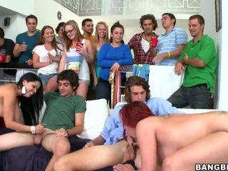 hardcore sex, college sex, orgy