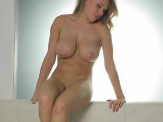 buah dada besar, lesbian, erotik