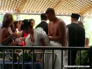 Elegant bitches merr dicks në një dasëm