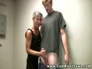 Horny amateur mature is hungry for jizz