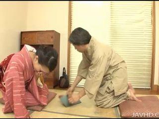 जापानी, विदेशी, blowjob