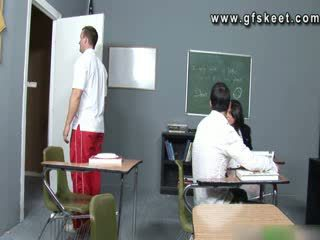 Student Gia Steel fucking in class