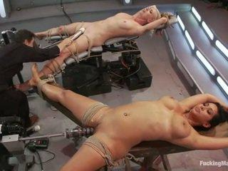 hardcore sex, juguetes, máquina de mierda