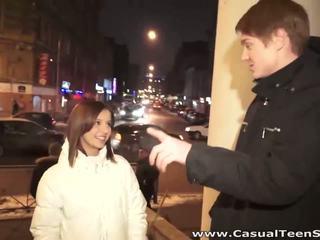 Casual ティーン セックス セックス とともに ホット stranger