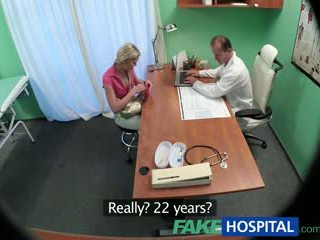 Fakehospital slimmad baben wants kön med doktorn