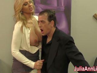 Sexy milf julia ann milks lui sur date nuit: gratuit porno f8