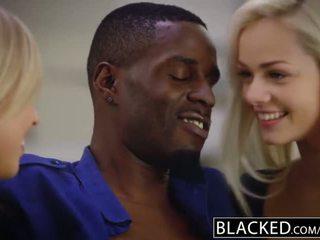 Blacked pertama antar ras seks empat orang untuk elsa jean dan zoey monroe