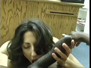 Asian-pakistani bruneta sucks velký černý dravidian čurák