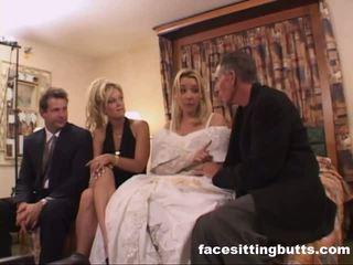Bride-to-be got а неприятен на лицето, безплатно facesitting butts порно видео