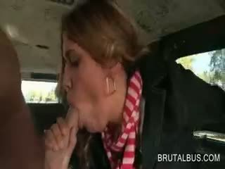 brunette, reality, blowjob
