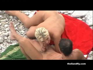 fucking, voyeur, beach, couples, outdoors, group