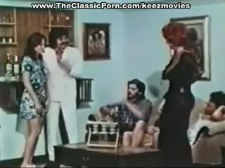 classique, rétro, des stars du porno