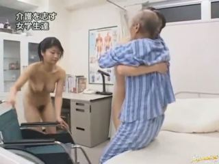 japoński, obciąganie, orientalny