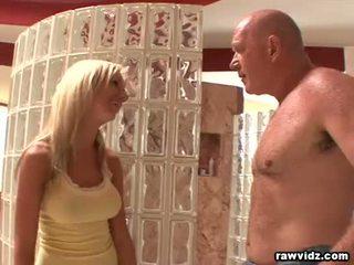 oralni seks, deepthroat, old