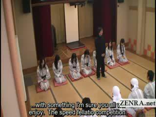 Subtitled liels vientiesis indebted japāna milfs bathhouse sekss spēle