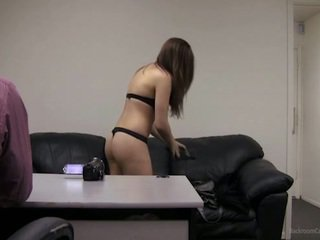 brunette, schattig, tiener sex