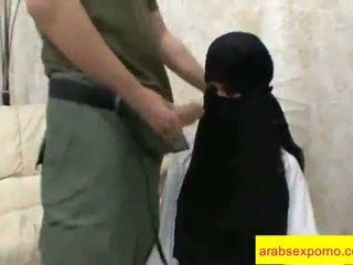 Arab bayan doggy style long video clip