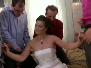 Fucking the whole wedding party - ddf productions