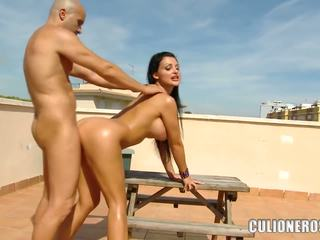 Aletta ocean sikiş on a rooftop