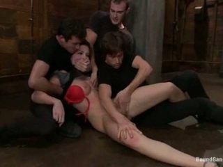 Aria aspen has 그녀의 바보 hole used 에 갱 bang 공연
