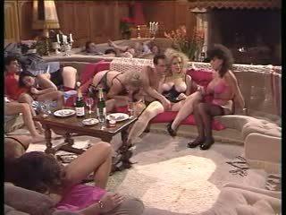 double penetration, group sex, milfs