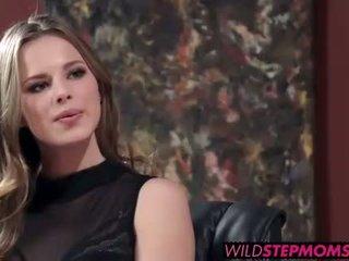 Abbey brooks accompanies ju stepdaughter na a práce interview