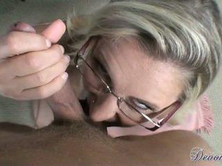 Devon Lee Sexy Honey Filled With Warm Cum On Face