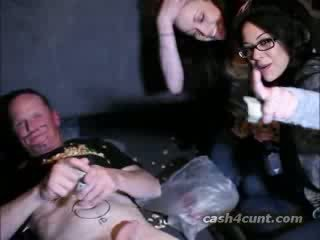 Prostitute paid to jerk boner