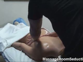 Teen doing massage