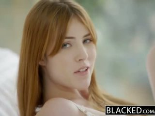 Blacked gwen stark và amarna miller đầu tiên giữa các chủng tộc có ba người