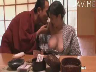 morena, japonês, boquete