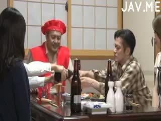 ญี่ปุ่น, ตูด, threesome
