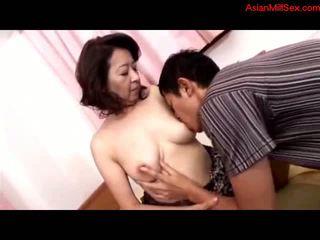 reifen, mütter und jungen, asiatisch