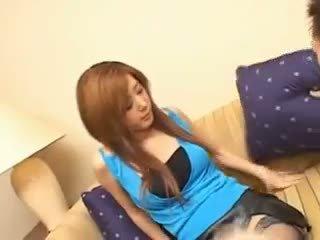 brunette, hardcore, asiatique