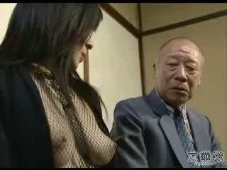 japoński, dziewczyna, haporn
