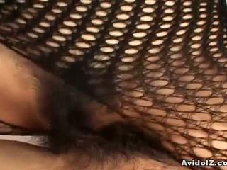 herhangi japon ideal, sıcak fishnet, görmek bodystocking