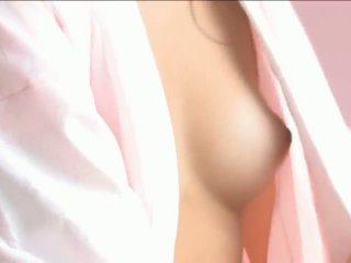 Iori Mizukilovely japanese babe gets nipples licked and posing