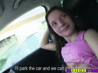 Anita misses 該 總線 為 汽車 性別 現場
