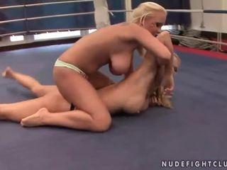 all lesbian, hottest lesbian fight nice, hq muffdiving new