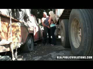 Truck stop zkurvenej violations